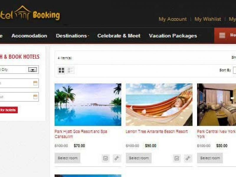 Online Hotel Booking PHP Script