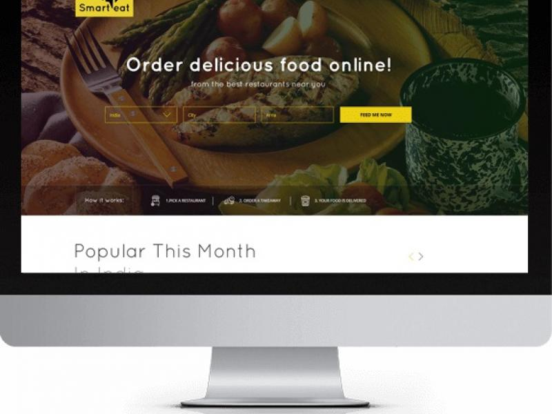 SmartEat - Online Food Ordering System - Just Eat clone script