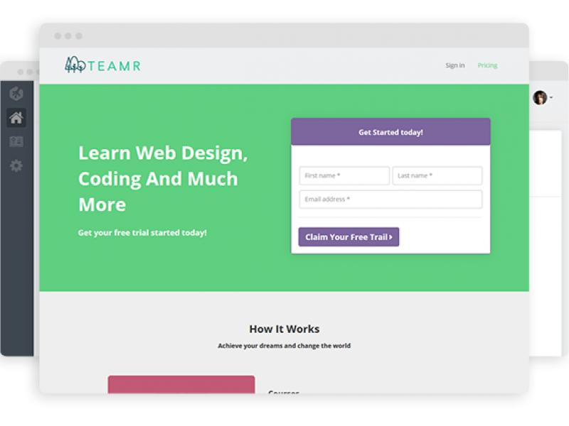 Teamtreehouse Clone PHP Script - Teamr - Online Training Platform Thumbnail