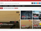 Video Portal Templates | Video News Portal PHP Script Thumbnail