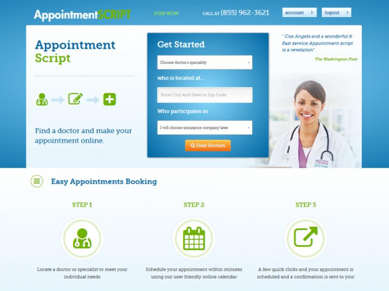 AppointmentSCRIPT - Build an appointment booking platform like ZocDoc