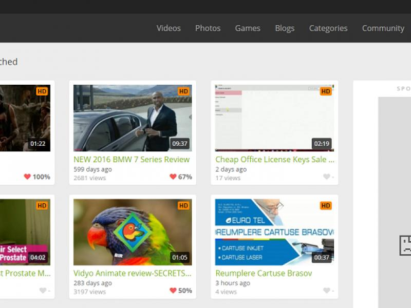 Create Outstanding Video Sharing Websites Thumbnail