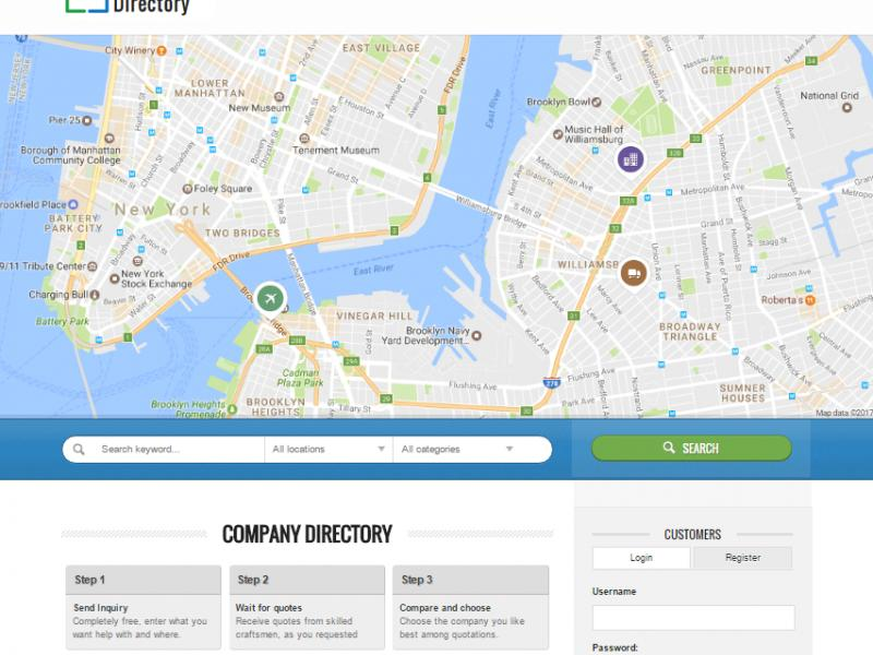 UBusiness Directory - Business Directory PHP Script