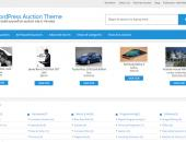 Responsive WordPress Auction Theme - PHP Auction Script Thumbnail