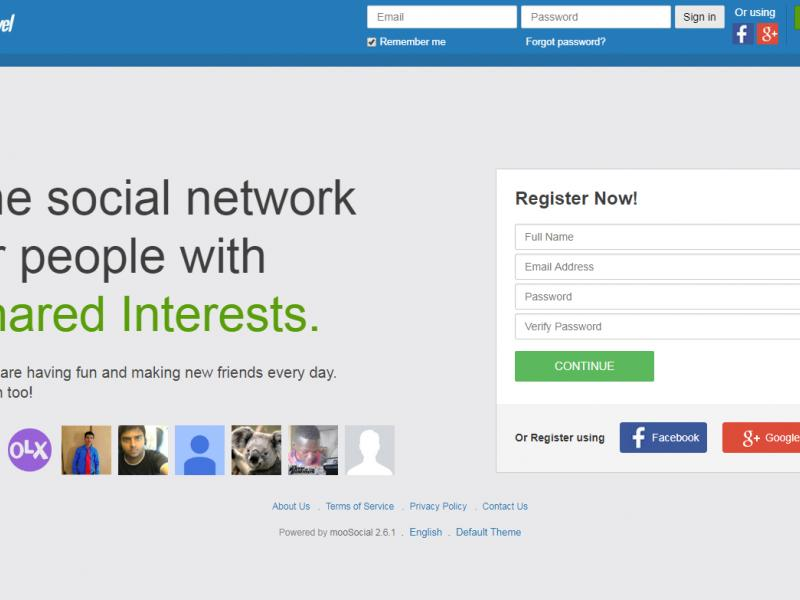 MooSocial - Mobile Friendly Social Network Script