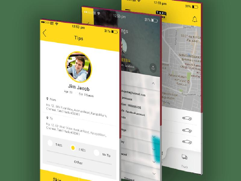 Taxi Booking Solution - Custom Taxi App Development