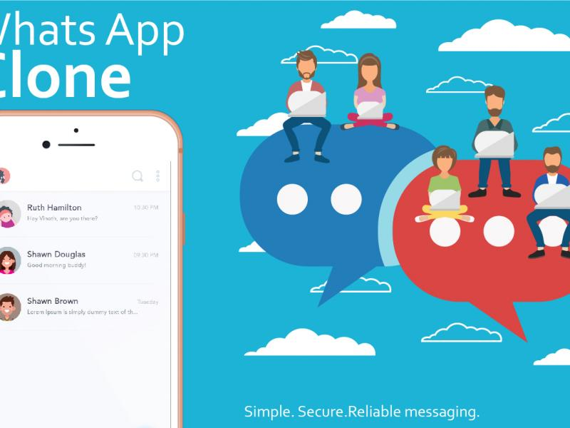 Whatsapp clone Script and app Development