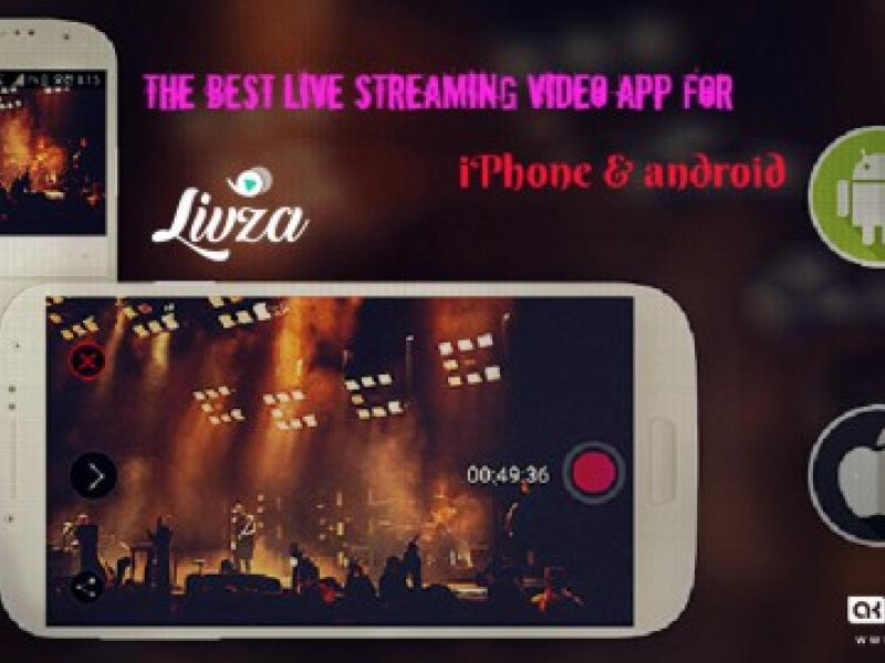 Livza- New Online Live Video Streaming Application For Business