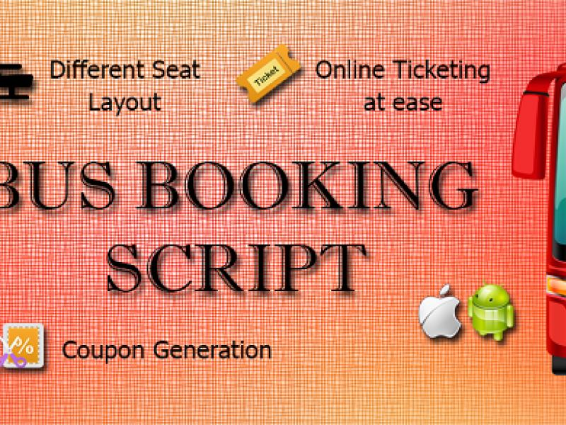 Bus Booking PHP Script