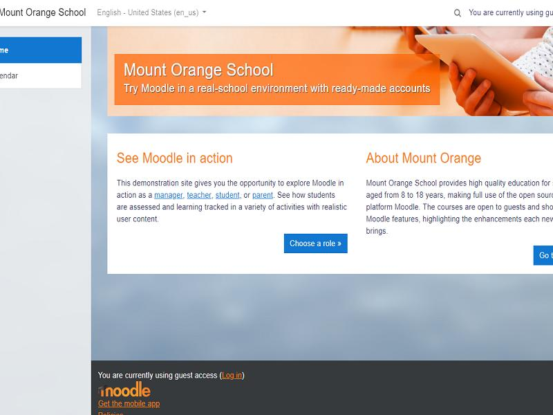 Moodle E-Learning PHP Script - Virtual Learning Environment (VLE) Thumbnail
